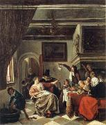 Jan Steen The Way we hear it is the way we sing it oil painting picture wholesale