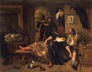 Jan Steen The Drunken couple. oil painting picture wholesale
