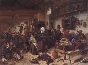 Jan Steen A Shool for boys and girls oil painting picture wholesale