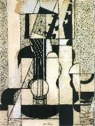Juan Gris The still lief having guitar oil painting picture wholesale