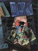 Juan Gris The still life in front of Window oil painting picture wholesale