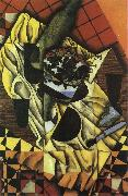 Juan Gris Grape and wine oil painting picture wholesale