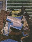 Juan Gris Window blind oil painting picture wholesale