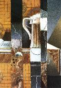 Juan Gris Beer cup and card oil painting picture wholesale