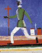 Kasimir Malevich The man running oil painting picture wholesale