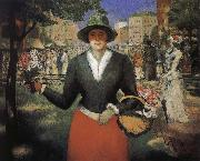Kasimir Malevich flower girl oil painting picture wholesale