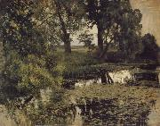 Levitan, Isaak Jungly Pond oil painting picture wholesale
