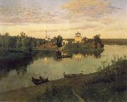 Levitan, Isaak Curfew oil painting picture wholesale