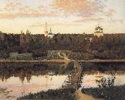 Levitan, Isaak The noiseless closter oil painting picture wholesale