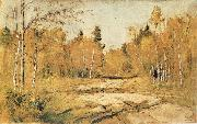 Levitan, Isaak The Sunshine of Autumn oil painting picture wholesale