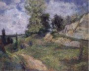 Paul Gauguin The Quarries of Le Chou near Pontoise oil painting picture wholesale