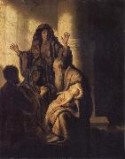 REMBRANDT Harmenszoon van Rijn The Presentation of Jesus in the Temple oil painting picture wholesale