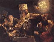 REMBRANDT Harmenszoon van Rijn The Feast of Belsbazzar oil painting picture wholesale