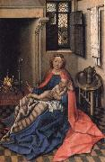 Robert Campin Virgin and Child at the Fireside oil painting picture wholesale