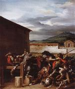 Theodore Gericault The Cattle market oil painting picture wholesale