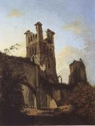 unknow artist Ruins of Llanthony Abbey oil painting picture wholesale