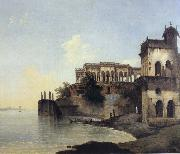unknow artist View of the Ruins of a Palace at Gazipoor on the River Ganges oil painting picture wholesale