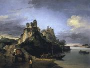 unknow artist A View of the West Side of the Fortress of Chunargarh on the Ganges oil painting picture wholesale