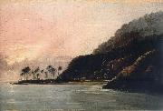 unknow artist A View of Point Venus and Matavai Bay,Looking east oil painting picture wholesale