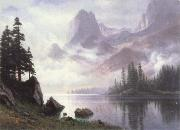 Albert Bierstadt Mountain of the Mist oil painting picture wholesale