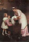 Arthur Elsley Good Night oil painting picture wholesale