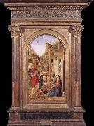 BASTIANI, Lazzaro Adoration of the Magi oil painting artist