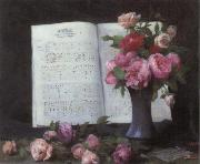 Charles Schreiber Rose Nocturne oil painting picture wholesale