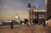 Corot Camille Manana in Venice oil painting picture wholesale
