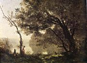 Corot Camille I remember of Mortefontaine oil painting picture wholesale