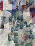 Delaunay, Robert The Window towards to City oil