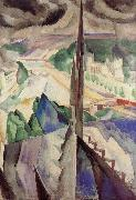 Delaunay, Robert Tower oil painting artist