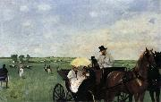 Edgar Degas Racetrack oil painting picture wholesale