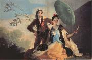 Francisco Goya The Parasol oil painting picture wholesale