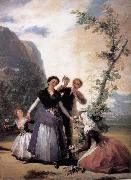 Francisco Goya Spring oil painting picture wholesale