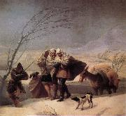 Francisco Goya Winter oil painting picture wholesale