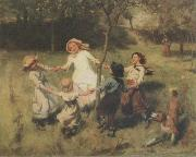 Frederick Morgan Ring-a-Ring o-Roses oil painting picture wholesale