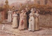 George goodwin kilburne Mirr Pinkerton-s Academy oil painting picture wholesale