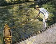 Gustave Caillebotte Tug the racing boat oil painting picture wholesale
