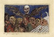 James Ensor The Deadly Sins Dominated by Death oil painting picture wholesale
