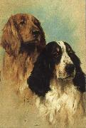 John emms English Springer Spaniels at Rest oil painting picture wholesale