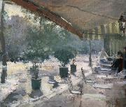 Konstantin Korovin Cafe of Paris oil painting reproduction