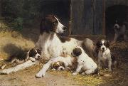 Otto Eerelman Dogs oil painting picture wholesale