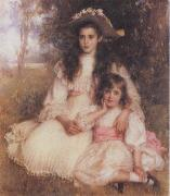 Robert Morrison The Browning Children oil painting picture wholesale
