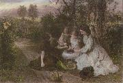 Thomas Brower A Feast of Cherries oil painting picture wholesale