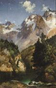 Thomas Moran Idaho Territory oil painting picture wholesale