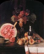 William Merritt Chase Still life and watermelon oil painting picture wholesale