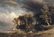 Albert Bierstadt The Coming Storm oil painting picture wholesale