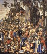 Albrecht Durer Martyrdom of the 10000 Christians oil painting picture wholesale