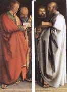 Albrecht Durer The Four Holy Men oil painting picture wholesale
