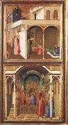 Ambrogio Lorenzetti St Nicholas Offers Three Girls Their Dowry oil painting picture wholesale